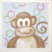 Monkey Mounted Deco Art Print