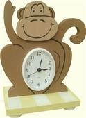 Monkey Table Clock