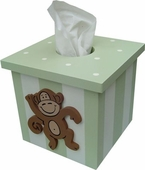 Monkey Tissue Box Cover