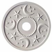 Moon and Stars Chandelier Medallion