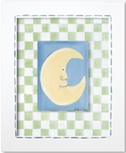Moon Custom Framed Giclee Print