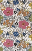 Multi Flowers Goa Hand-Tufted Rug