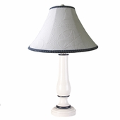 Nautical Matelasse Large Pin Urn Lamp
