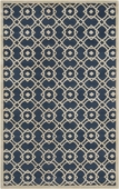 Navy Blue Goa Hand-Tufted Rug