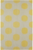 NY Dot Rug - Yellow