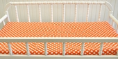 Orange Crush Changing Pad Cover
