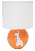 Orange Giraffe Character Sphere Lamp