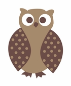 Owl Custom Wall Decal