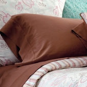 Oyster Camille Solid Sateen Pillow Case Pair