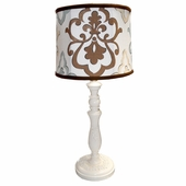 Paige Spa Damask Bella Medium Hood Lamp