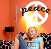Peace Sign Custom Wall Decal
