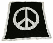 Peace Sign Customized Blanket
