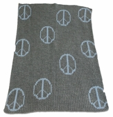 Peace Signs Customized Blanket
