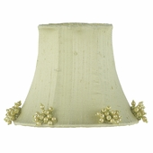 Pearl Burst Sage Green Chandelier Shade