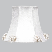 Pearl Burst White Chandelier Shade