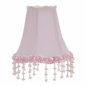 Pearl Flower Pink Chandelier Shade