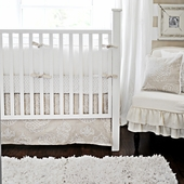 Pebble Moon 2-Piece Crib Bedding Set