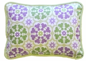 Pedal Pusher in Lavender Throw Pillow