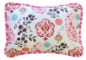 Penelope in Pink Throw Pillow