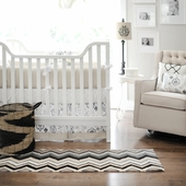 Penelope in Wheat 2-Piece Crib Bedding Set