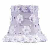 Petal Flower Lavender Chandelier Shade