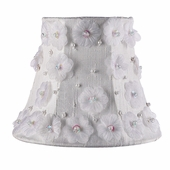 Petal Flower White Chandelier Shade