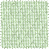 Petite Gingham Green Fabric