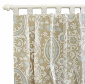 Picket Fence Curtain Panel Set