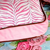 Pink Boutique Square Accent Pillow