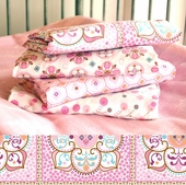 Pink Large Moroccan Changing Pad Cover