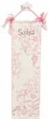Pink Lavish Canvas Growth Chart