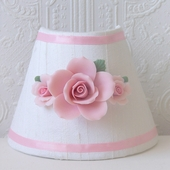 Pink Porcelain Roses Night Light