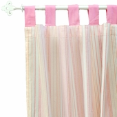 Pink Sorbet Curtain Panel Set