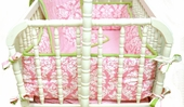 Pink Taffy 2-Piece Cradle Bedding Set