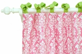 Pink Taffy Curtain Panel Set