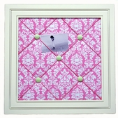 Pink Taffy Memo Board
