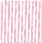 Pink & White Stripe Fabric
