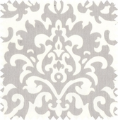 Platinum Damask Fabric