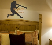 Play Ball Custom Personalized Wall Decal