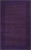 Plum Border Mystique Hand-Crafted Rug
