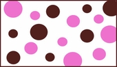Polka Dots Custom Wall Decal