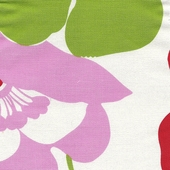 Poppy Flowers Fabric