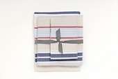 Preppy Stripe Khaki Sheet Set
