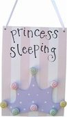 Princess Crown Door Hang
