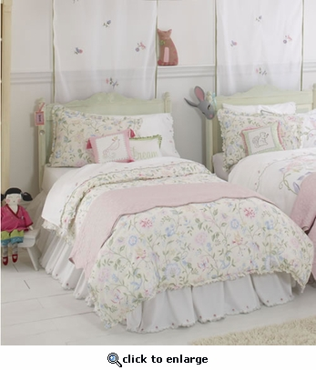 Princess Floral Reversible Duvet Cover
