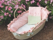 Princess Moses Basket & Blanket