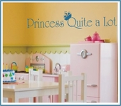 Princess Quite A Lot Custom Wall Decal