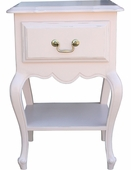 Provence Night Stand with Shelf