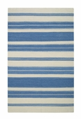 Puhalo Stripe Rug - Blue