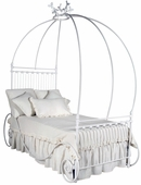Pumpkin Iron Canopy Bed